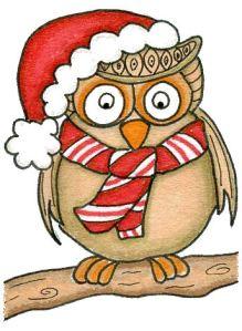 Owl Christmas 2b