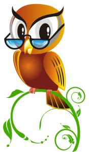 Owl with Glasses 4