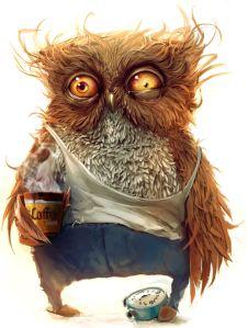 Owl Frazzled 2